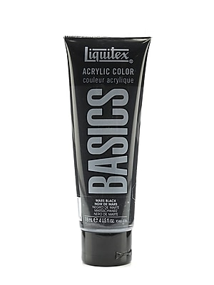 Liquitex Basics Acrylics Colors Mars Black 4 Oz. Tube [Pack Of 3] (3PK-1046276)
