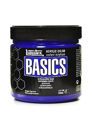 Liquitex Basics Acrylics Colors Ultramarine Blue 32 Oz. Jar (4332380)