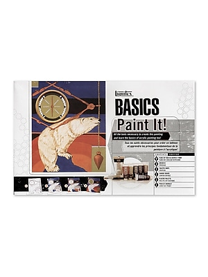 Liquitex Basics Acrylics Paint It! Set Each (101084) 2135572