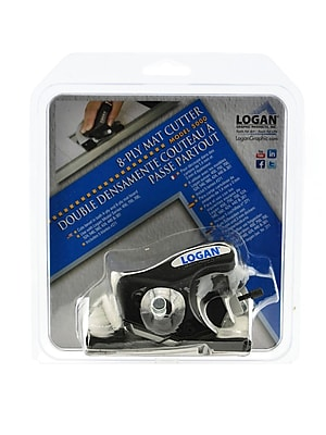 Logan Graphic Products 8-Ply Mat Cutter And Blades Cutter (5000)
