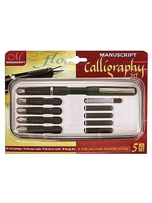 Manuscript 5 Nib Calligraphy Set 5 Nib Set (MC1185)