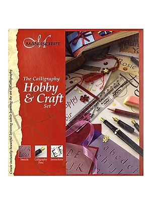 Manuscript Calligraphy Hobby And Craft Set Each (MC149)