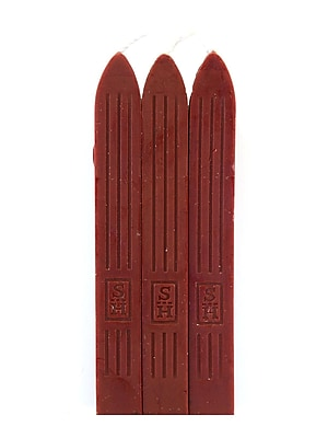 Manuscript Chronicle Sealing Wax 3 Sticks Red [Pack Of 2] (PK2-MSH7603RW) 2169364