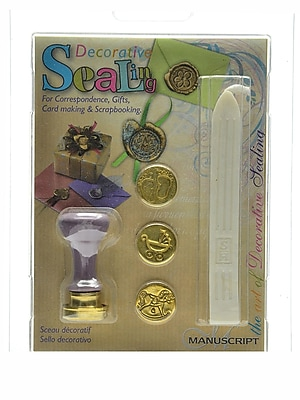 Manuscript Decorative Sealing Sets Decorative Seal Set Foot/Pram/Rocking Horse (MSH7273BIR)