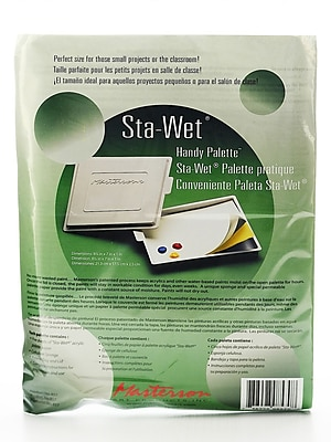 Masterson Sta-Wet Handy Palette Each No. 857 Sta-Wet Handy Palette [Pack Of 2] (2PK-857)