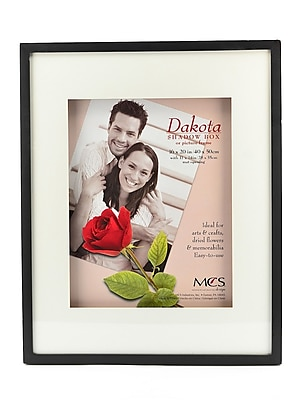 Mcs Dakota Shadow Boxes 16 In. X 20 In. Black 11 In. X 14 In. Opening (52733)