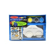 Melissa  And  Doug Decorate Your Own Kits Resin Race Car Bank (8863)