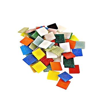 Mosaic Mercantile Solid Color Vitreous Glass Mosaic Tile Atlantic 3/8 In. 1/6 Lb. Bag [Pack Of 6] (6PK-ATLMINI 1/6)
