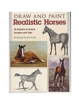 North Light Draw And Paint Realistic Horses Each (9781600619960)