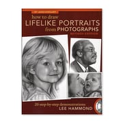 North Light How To Draw Lifelike Portraits From Photographs Rev. Each (9781600619700)