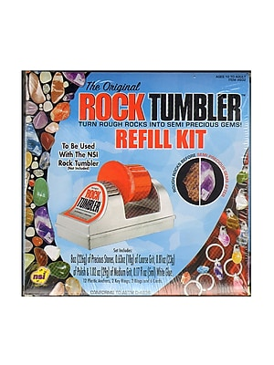 Nsi The Original Rock Tumbler Refill Kit (602)