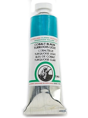 Old Holland Classic Oil Colours Cobalt Blue Turquoise Light 40 Ml 262 (09262)