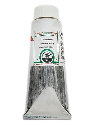 Old Holland Classic Oil Colours Titanium White 125 Ml 001 (12001)