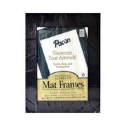 Pacon Pre-Cut Mat Frames Black Pack Of 12 (72570)