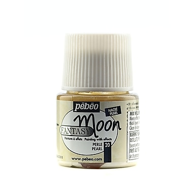Pebeo Fantasy Moon Effect Paint Pearl 45 Ml [Pack Of 3] (3PK-167020CAN)