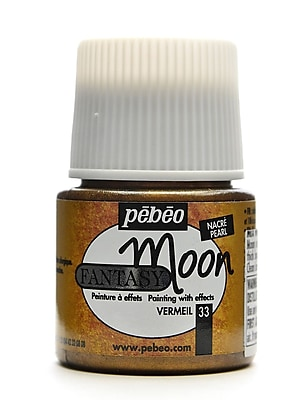 Pebeo Fantasy Moon Effect Paint Vermeil 45 Ml [Pack Of 3] (3PK-167033CAN)