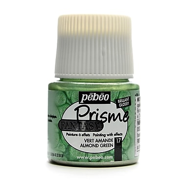 Pebeo Fantasy Prisme Effect Paint Almond Green 45 Ml [Pack Of 3] (3PK-166017CAN)