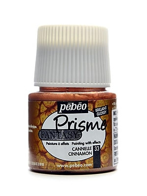 Pebeo Fantasy Prisme Effect Paint Cinnamon 45 Ml [Pack Of 3] (3PK-166033CAN)