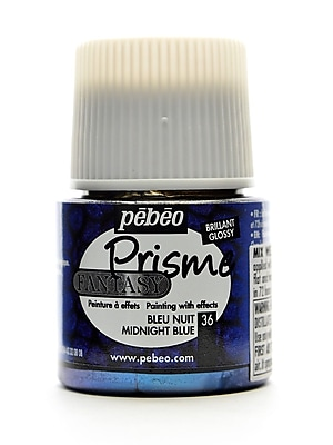 Pebeo Fantasy Prisme Effect Paint Midnight Blue 45 Ml [Pack Of 3] (3PK-166036CAN)