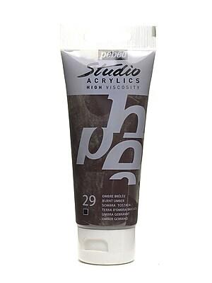Pebeo Studio Acrylic Paint Burnt Umber 100 Ml [Pack Of 3] (3PK-831-029)