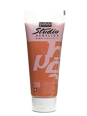 Pebeo Studio Acrylic Paint Venice Red 100 Ml [Pack Of 3] (3PK-831-039)