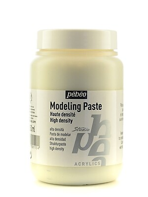 Pebeo Studio Acrylics Modeling Paste High Viscosity 250 Ml Jar [Pack Of 2] (2PK-169115)