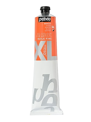 Pebeo Studio Xl Oil Paint Vivid Red 200 Ml (200036)