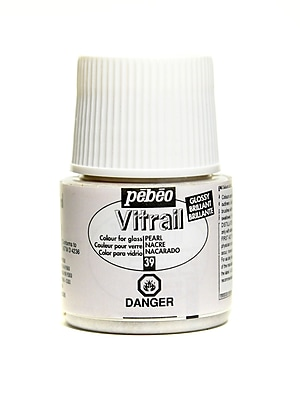 Pebeo Vitrail Paint Pearl 45 Ml [Pack Of 3] (3PK-050-039CAN)