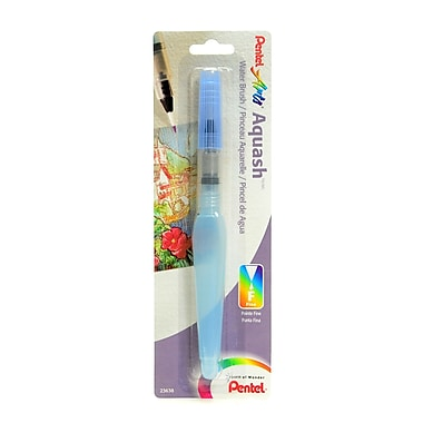 Pentel Aquash Water Brush Small Fine Point, Empty [Pack Of 2] (2PK-FRHFBP)