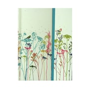 Peter Pauper Foldover Journals Floral Birds 6 1/4 In. X 8 1/4 In. 160 Pages [Pack Of 2] (2PK-9781593596651)