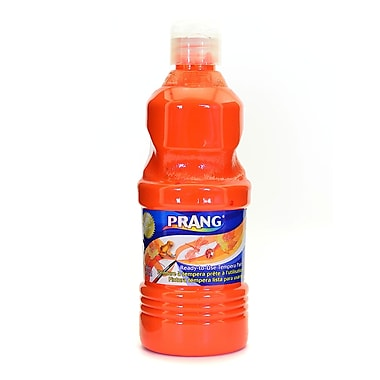 Prang Ready To Use Tempera Paint Orange 16 Oz. [Pack Of 4] (4PK-21602)