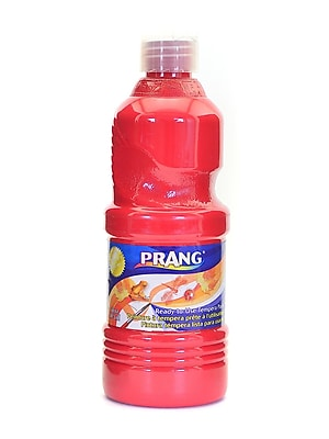 Prang Ready To Use Tempera Paint Red 16 Oz. [Pack Of 4] (4PK-21601)