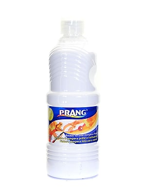Prang Ready To Use Tempera Paint White 16 Oz. [Pack Of 4] (4PK-21609)