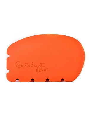 Princeton Catalyst Silicone Tools Wedge No. 5 Orange [Pack Of 2] (2PK-W-05)
