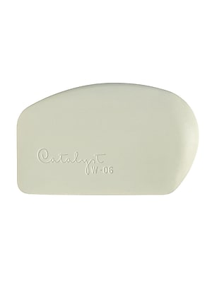 Princeton Catalyst Silicone Tools Wedge No. 6 White (W-06)