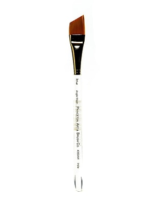Princeton Series 4350 Synthetic Watercolor And Acrylic Brushes 3/4 In. Angular Wash (4350AW-075)