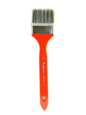 Princeton Series 6700 Red Line Brushes 3 In. Flat Long Handled Mottler (6702)