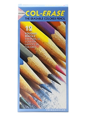 Prismacolor Col-Erase Colored Pencils Assorted Set Of 12 [Pack Of 2] (PK2-20516)