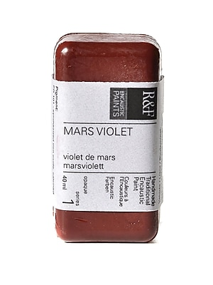 R And F Handmade Paints Encaustic Paint Mars Violet 40 Ml [Pack Of 2] (2PK-101A)