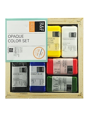 R And F Handmade Paints Encaustic Sets Opaque (1960)