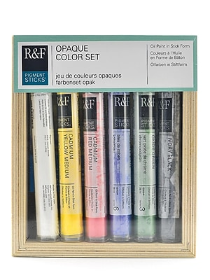 R And F Handmade Paints Pigment Stick Sets Opaque (2930)