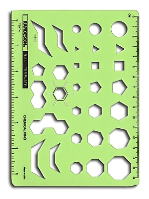 Rapidesign Technical And Scientific Drafting Templates R-83 Chemical Ring (R83)