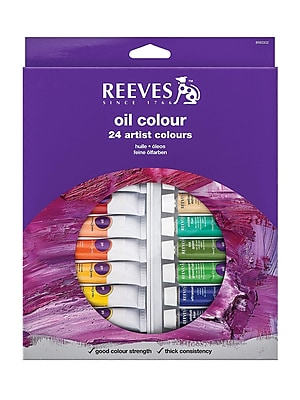 Reeves Fine Oil Colours Sets Set Of 24 (8594302)