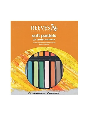 Reeves Soft Pastel Sets Set Of 24 (8790175) 2168345