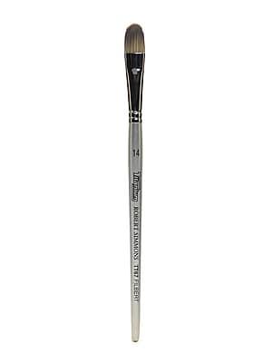 Robert Simmons Titanium Brushes Short Handle Single Stock 14 Filbert Tt67 (225067014)