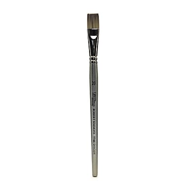 Robert Simmons Titanium Brushes Short Handle Single Stock 20 Flat Shader Tt60 (225060020)