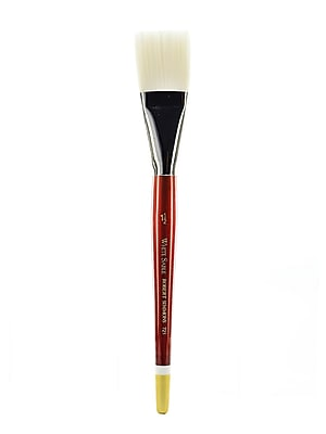 Robert Simmons White Sable Short Handle Brushes 1 1/2 In. One Stroke 721 (220221150)