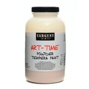 Sargent Art Art-Time Powder Paints Peach 1 Lb. Jar [Pack Of 3] (3PK-22-7187)
