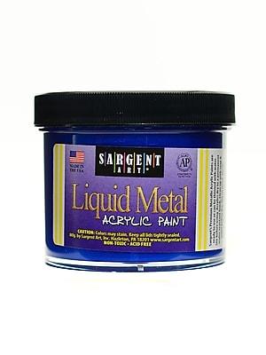 Sargent Art Liquid Metals Acrylic Paint Blue [Pack Of 3] (3PK-22-1250)