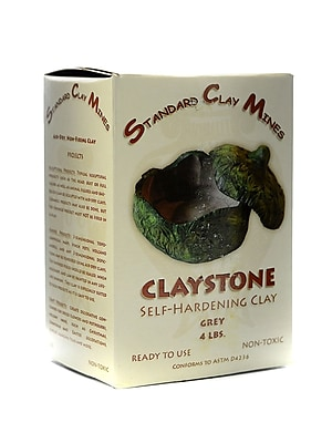 Sculpture House Claystone Granite Gray 4 Lb. [Pack Of 2] (2PK-576H)
